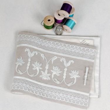 Booklet 'Needle pocket Herbier Nacré'